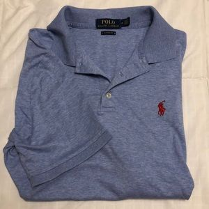 ⭐️Polo Ralph Lauren Classic Fit Shirt Size M Blue